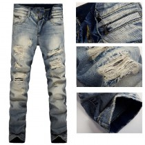 Mens Skinny Fit Denim Jeans