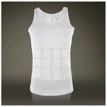 Mens Slim Elasticity Undershirts Cotton Vest