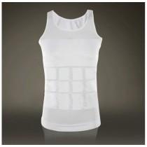 Mens Slim Elasticity Undershirts Cotton Vest