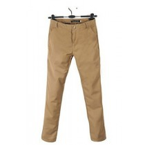 Mens Solid Cotton Formal Trousers
