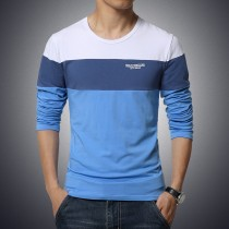 Mens Striped Pattern Casual Tshirts
