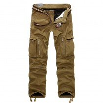Mens Stylish Cotton Cargo Trousers