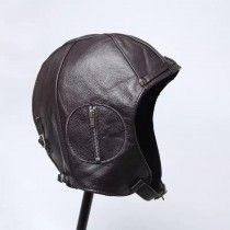 Mens Unique Motorcycle Leather Hat
