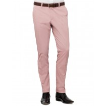 Modern Pink Hills Cotton Formal Trouser