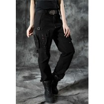 Multi Pockets  Womens Cargo Trousers