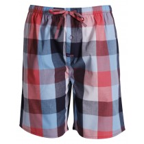 Multicolored checkered Sleep Short Nightwear