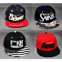 Multicolored New Men Snapback Cap