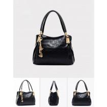 Multicolored Vintage Leather Women Handbag