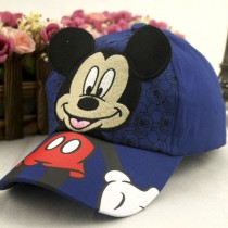 New Adjustable Micky Mouse Pattern Caps