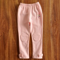 New Arrival Bow Pattern Cotton Girl Trousers