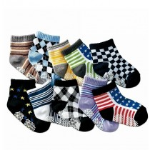 New Arrival Boys Printed Fashionable Socks