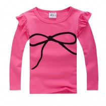 New Arrival Fashion Long Sleeve Girl Tshirt