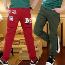 New Arrival Loose Cotton Boy Casual Trousers