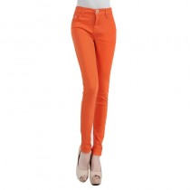 New Arrival Slim Fit Elastic Stretch Trousers