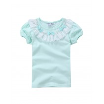 New Arrival Summer Style Bow Girl Tshirts