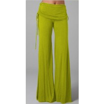 New Arrival Wide Leg Low Waist Women Trousers
