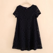 New Casual Party Mini Women Lace Dresses