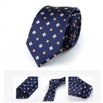 New Classic Jacquard Woven Silk Mens Ties