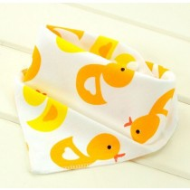 New Double Layers Printed Infant Baby Bibs