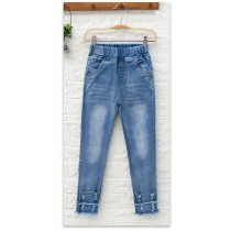 New Fashion Casual Full Length Girl Jeans