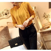 New Fashion Womens Chiffon Formal Shirts