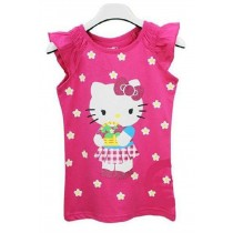 New Girl Fashion Hello Kitty Cartoon Tshirts