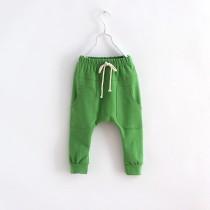 New Girl Harem Style Elastic Waist Trousers