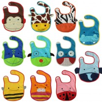 New Infant Baby Boy Girl Designer Lunch Bibs