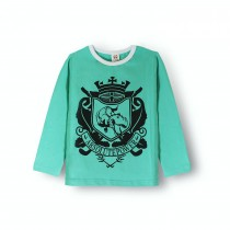 New Letter Print Fashion O Neck Boy Tshirts