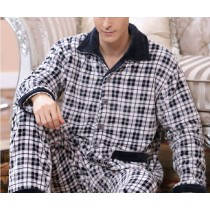 New Men Fashion Pajamas Nightwear Sets