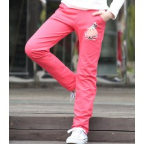 New Single Cotton Designer Casual Girl Trousers