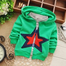 New Star Hooded Cotton Infant Sweaters