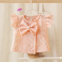 New Style Baby Girl Lace Waist Coat