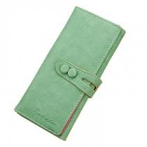 New Women Fashion Soft Leather Long Wallets