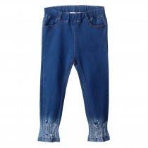 Newest Blue Girls Skinny Denim Jeans