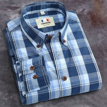 Plus Size Cotton Mens Casual Shirts1