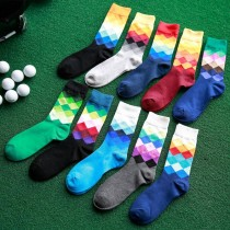 Pure Cotton Men Knitted Casual Socks