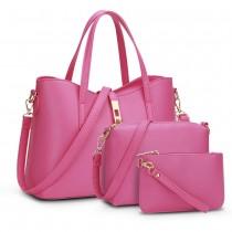 Set of 3 Pcs Women Stylish Shoulder Bags