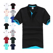 Short Sleeve Mens Sports Polo Tshirts