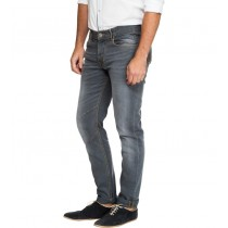 Skinny Fit Grey Colored Denim Jeans