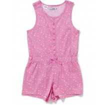 Stylish Pink Nightwear With Multicolored Print