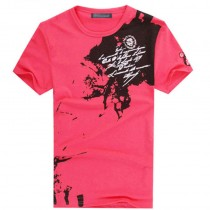 Stylish Short Sleeve Cotton Casual Tshirts