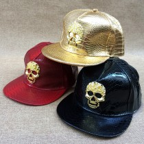 Stylish Skull Pattern Adjustable Caps