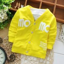 Unique Letters Print Infant Jackets