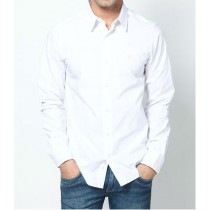White Core Casual Stretch Shirt
