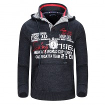 Winter Fashion Men Pocket Sweatshirt