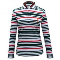 Women Fashion Sports Long Polo Tshirts