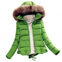 Women Hooded Ultra Light Winter Jacket
