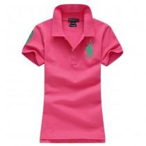 Women New Fashion Short Sleeve Polos