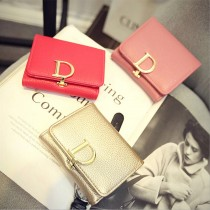 Women New Luxury PU Leather Wallets